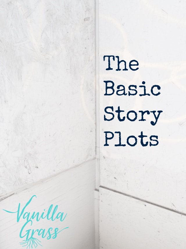 The 9 basic story plots for writing books that sell.