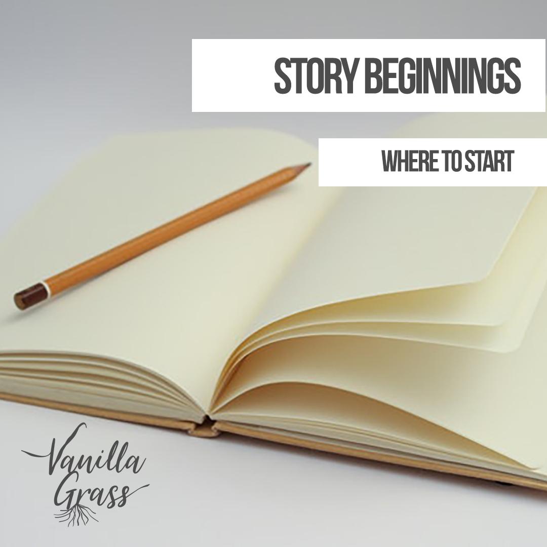 Story Beginnings
